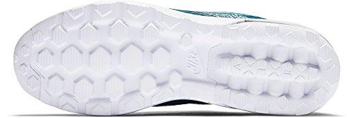 Nike Herren Air Max Mercurial 98 Fc Fußballschuhe Turquesa (Midnight Turq / Rio Teal-Black-White)