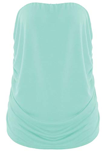 Mint One Sleeveless Top Size Pink Tank 21fashion Women Solid ag77fB