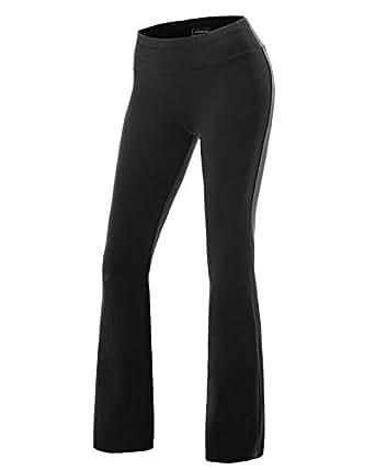 Amazon.com: Bootcut Casual Pants Loose Yoga Fits High