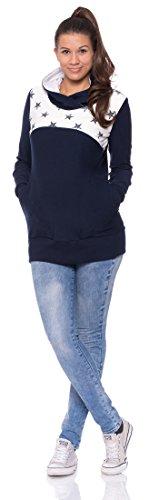 Milchshake - Jersey - para mujer azul marino