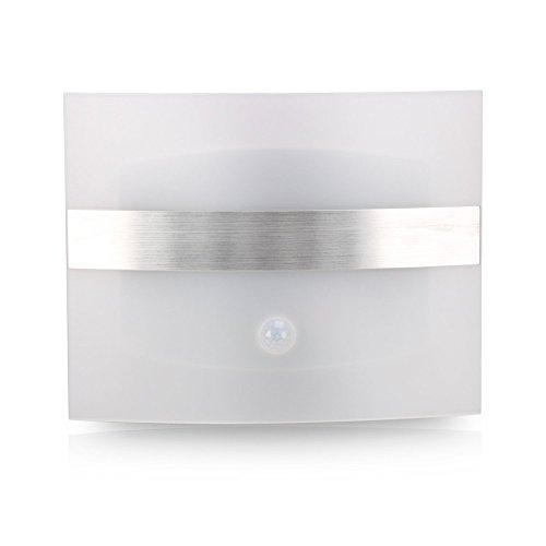 Amazon Lightning Deal 69% claimed: LED Motion Sensor Night Lights, Stoog USB Rechargeable LED Wall Sconce Night Light Lamp(White Light)