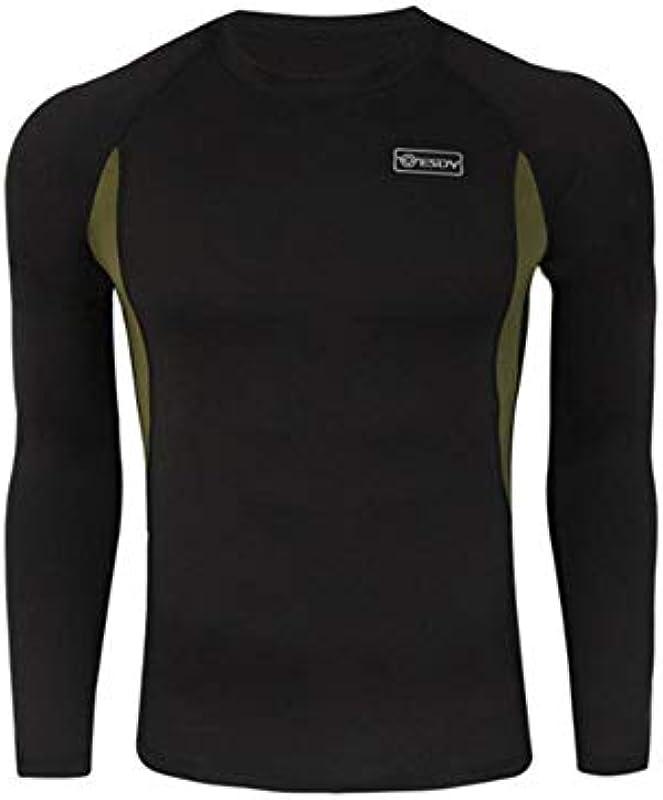 SHYSBV bielizna termiczna dla mężczyzn na zimę, termiczna bielizna termiczna dla mężczyzn, zestaw Underwear Compression Quick Drying Thermo Underwear: Küche & Haushalt