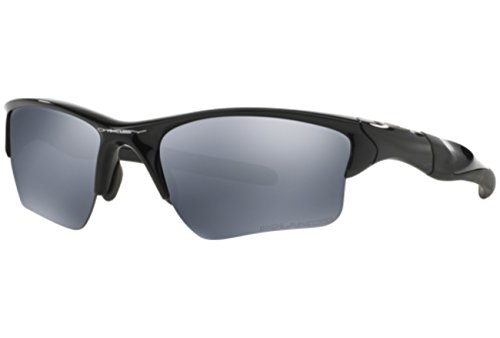 Oakley Half Jacket 2.0 Xl Polarized Sunglasses Black (Oakley Unobtainium)
