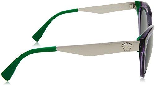 VE4338 Sonnenbrille Versace Green Transparent Violet x80wZ4paq