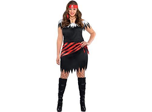 Amscan Adult Ahoy Katie Pirate Costume Plus Size ()
