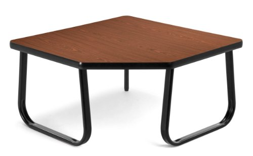 OFM TABLE3030-ENGLISH OAK Corner Table, 30 by 30-Inch, Mahogany by OFM