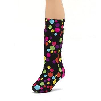 b77b6c71a392fa CastCoverz! Fashionable Leg Cast Cover - Lots Of Dots - Medium Short -  Below the