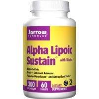 Jarrow Formulas - Alpha Lipoic Sustain with Biotin 300 mg. - 60 Vegetarian Tablets