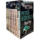 Peter Robinson The Inspector Banks Series 6 Books Collection Set (Bad Boy, A Dedicated Man, Playing with Fire, Innocent Graves, In a Dry Season, Cold is the Grave)