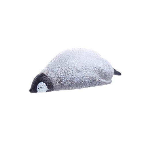 - Hunulu Animal Fridge Magnet Cute Kawaii Sleeping Animals Refrigerator Photo Sticker Gift Collectibles (Penguin)