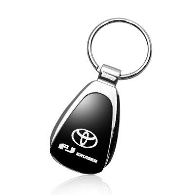 Toyota FJ Cruiser Black Tear Drop Key Chain Automotive Gold 4347669633 Au-Tomotive Gold INC
