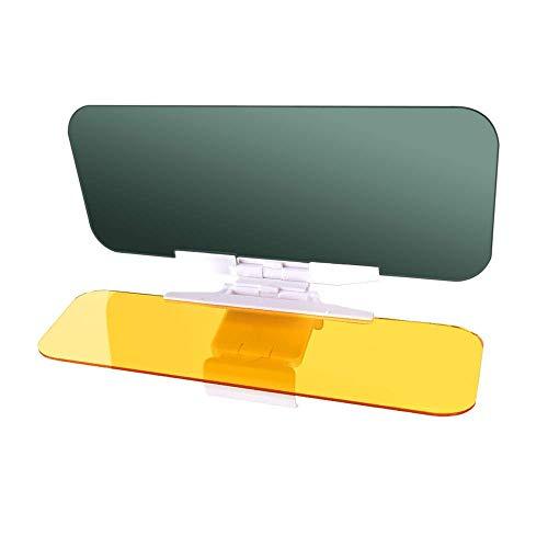 LILIONGTH Car Sun Visor Goggles 2 in 1 Day and Night Anti Glare Windshield Mirror Interior Kits