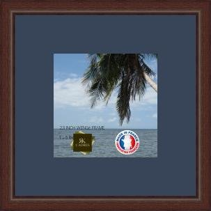 Picture frame with mat Bleu Fonce Wall Photo Frame for a image 17x17 on 24x18 frame, 13x13 frame, 20x20 frame, 11x16 frame, 14x14 frame, burnes of boston collage frame, 18x22 frame, 12x16 frame, 35x35 frame, 9x12 frame, 20x16 frame, 2 opening 5x7 frame, 7x7 frame, 12x24 frame, 14x18 frame, 13x10 frame, 18x18 frame, 30x30 frame, 10x13 frame,
