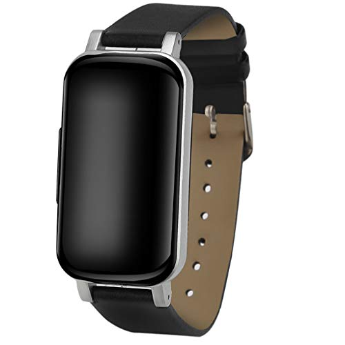 FEDULK Smart Watch Sports Fitness Activities Calorie Wristband Wear Smartwatch for Android and iOS(Black)