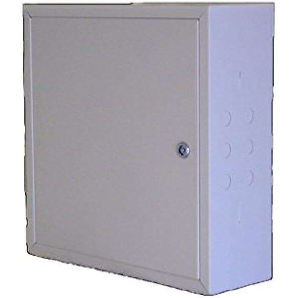 Ampliantena Armario metálico de 45x45x15cm con Fondo de Madera y Doble Llave de Seguridad: Amazon.es: Electrónica