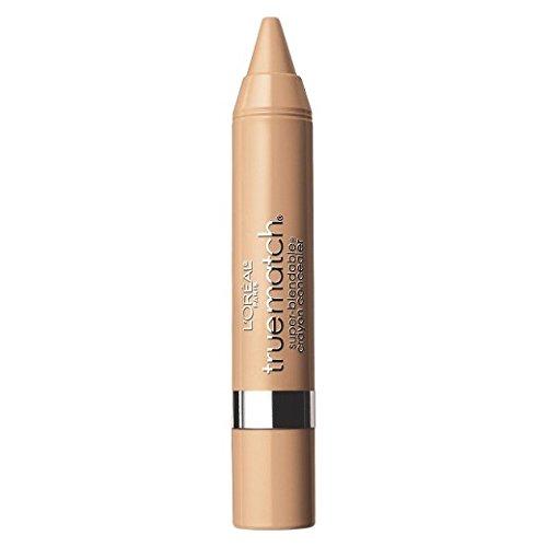 (L'Oréal Paris True Match Super Blendable Crayon Concealer, Light/Medium Warm, 0.1 oz.)