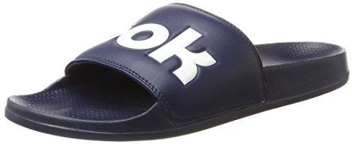Reebok Herren Classic Slide Dusch-& Badeschuhe Blau (Collegiate Navy/white)