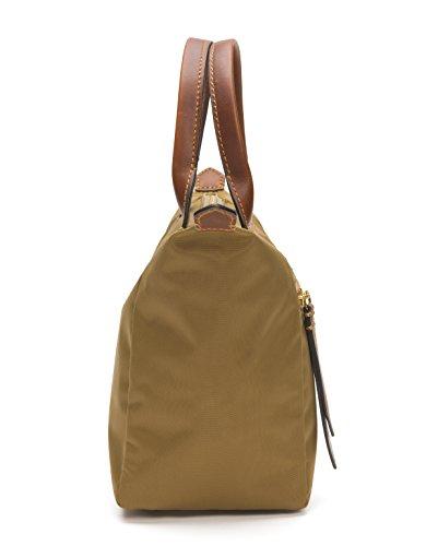 FRYE Handbag Satchel Nylon Small Tan Ivy qrvxf