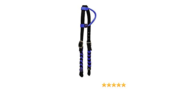 WHITE /& BLUE Nylon Horse Halter! NEW HORSE TACK!! Showman FORTH OF JULY RED