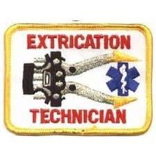Fire Rescue Uniforms - Extrication Technician - 3-5/8 x 2-1/2