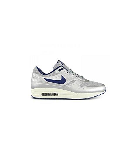 Mænd Nike Air Max 1 Hyperfuse Quick Strike Night Track Sneakers. Mænds Nike Air Max 1 Hyperfuse Hurtig Strejke Nat Spor Sneakers. Size 7. Metallic Silver/deep Royal Blue-sail Størrelse 7. Metallisk Sølv / Dyb Kongeblå-sejl BK7tbGXZQ