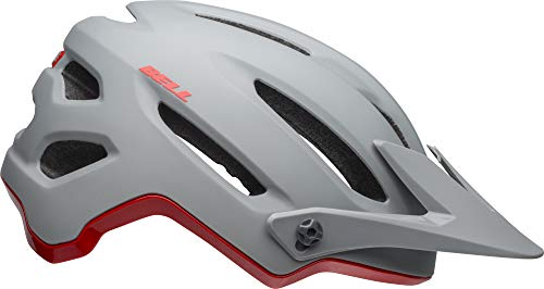 Bell 4Forty MIPS Adult MTB Bike Helmet (Cliffhanger Matte/Gloss Gray/Crimson (2019), X-Large) (Best Mtb Helmet Light 2019)