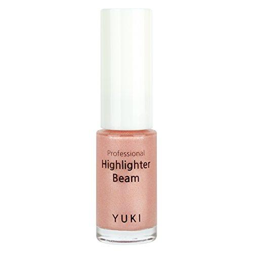Highlighter Beam by YUKI | Radiant Shine on Your Face with Strobe Makeup 0.17oz/5ml (03 Rose (Yuki Face)