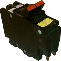 1- Federal Pacific NC230 , 2-POLE THIN 30 AMP Circuit Breakers NC0230 STAB-LOCK MARKING ON BREAKER