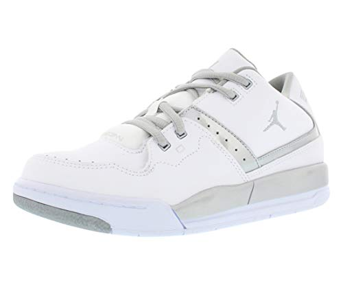 Jordan FLIGHT 23 BP boys basketball-shoes 317822-100_11.5C - WHITE/METALLIC SILVER-METALLIC SILVER