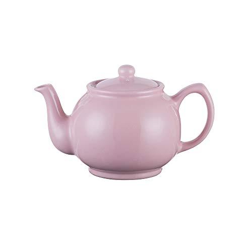 Precio y Kensington Pastel Rosa ceramica Tradicional 6Taza Tetera
