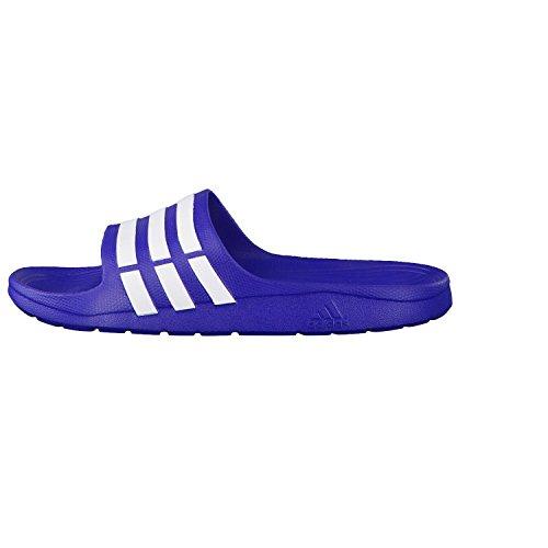 adidas bleu unisex blanc bleu Chanclas Duramo Slide wqq14z