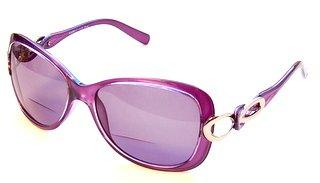 Glass Luminary (Luminary Designer Sun Reader Reading Glasses , 2.50, Purple)
