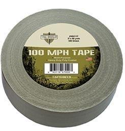 Tac Shield 100 MPH Tape, OD Green, 10 yd