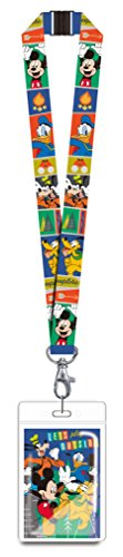 Disney 85927 Mickey & Gang Lanyard Novelty and Amusement Toys