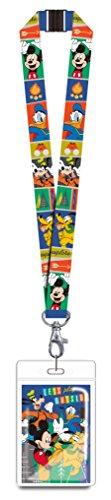 Disney 85927 Mickey & Gang Lanyard Novelty and Amusement Toys