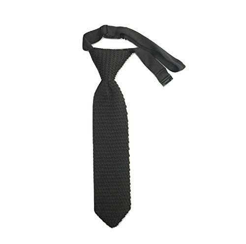 Hand made Men/'s Fashion Tie Knit Knitted tie Slim Skinny Woven Pointed UK