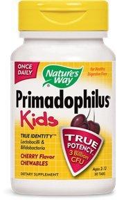 Way Primadophilus de la nature pour les enfants, Cerise, 30 comte (Pack de 2)
