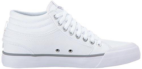 Hi Silver Silver White Shoe White Evan Skateboarding DC WoMen PRxOw6EWq