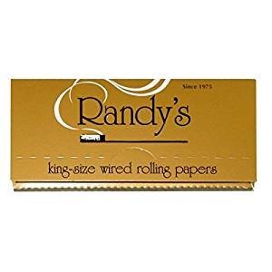 Randy Classic Gold King Size Cigarette All Natural Rolling Papers