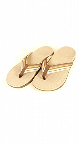 46a9959de795 Image Unavailable. Image not available for. Colour  Vionic Women s with  Orthaheel Coffee Island Sandals UK ...