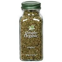 Simply Organic Oregano Leaf Cut & Sifted CERTIFIED ORGANIC 0.75 oz bottle (Pack of 5)
