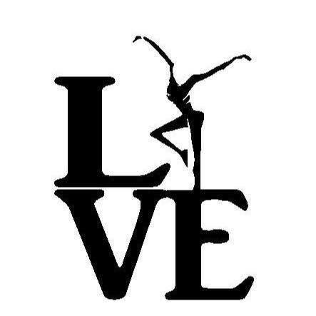 Fire Dancer Love DMB PREMIUM Decal Vinyl Sticker|Cars Trucks Vans Walls Laptop| Black |5.5 x 4.25 in|CCI1207