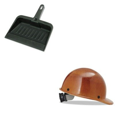 KITMSA475395RCP2005CHA - Value Kit - Safety Works Skullgard Protective Hard Hats (MSA475395) and Rubbermaid-Chrome Heavy Duty Dust Pan (RCP2005CHA) by Safety Works