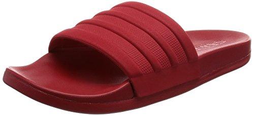 adidas Adilette Cf Mono W, Chancletas para Mujer Rojo (Escarl/escarl/escarl)