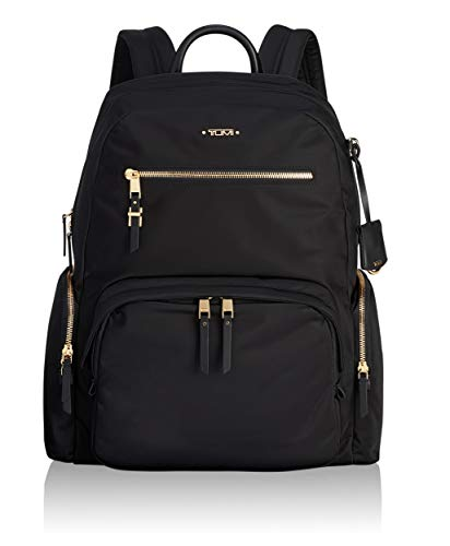 TUMI Women's Voyageur Carson Backpack, Black, One Size