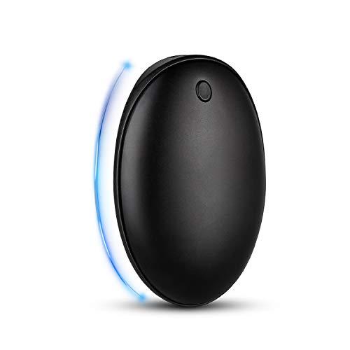 BRIGENIUS Handwärmer Wiederaufladbare, 5200mAh USB Double-Side Handwärmer elektrisch Taschenwärmer