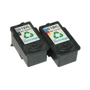 PG-512 y CL-513 negro alta capacidad REMANUFACTURADO cartuchos de ...