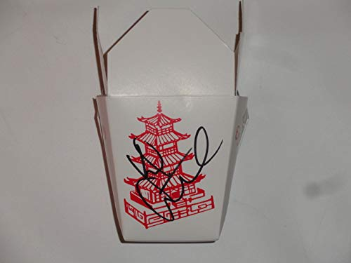 KIEFER SUTHERLAND SIGNED CHINESE FOOD MAGGOTS CONTAINER THE LOST BOYS PROOF PROP