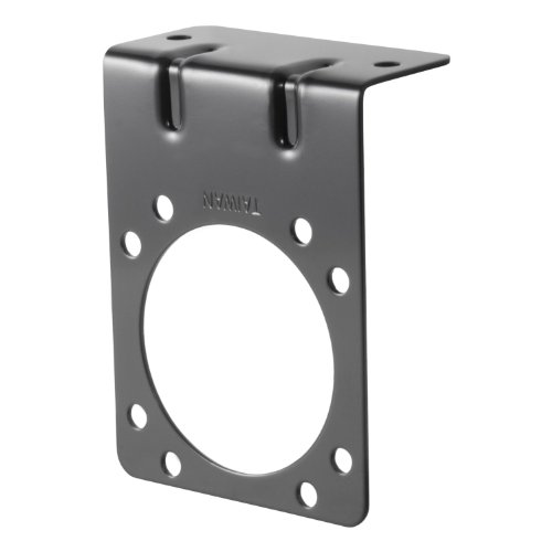 Connector Socket Mounting Bracket - Curt 58291