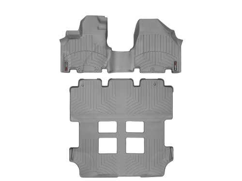 2011-2015-honda-odyssey-weathertech-floor-liners-full-set-includes-1st-and-2nd-row-over-the-hump-gre